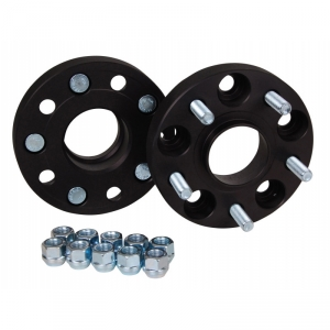 25mm Wheel Spacers - Bolt Pattern 5x108 (Hub Converts to 63.4mm)
