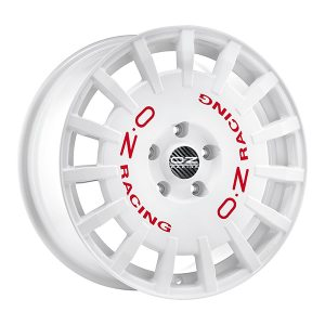 OZ Rally Racing White 7x17 4x100 E30 C68,1