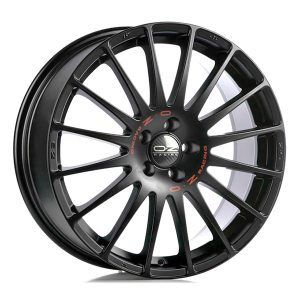 OZ Superturismo Black 8x17 5x100 E35 C68,1