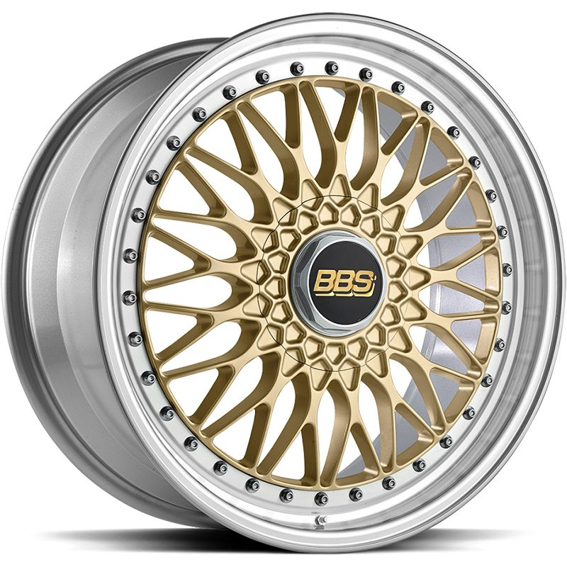 BBS Super RS Gold 8,5x20 5x112 ET45 CB82,0 60°